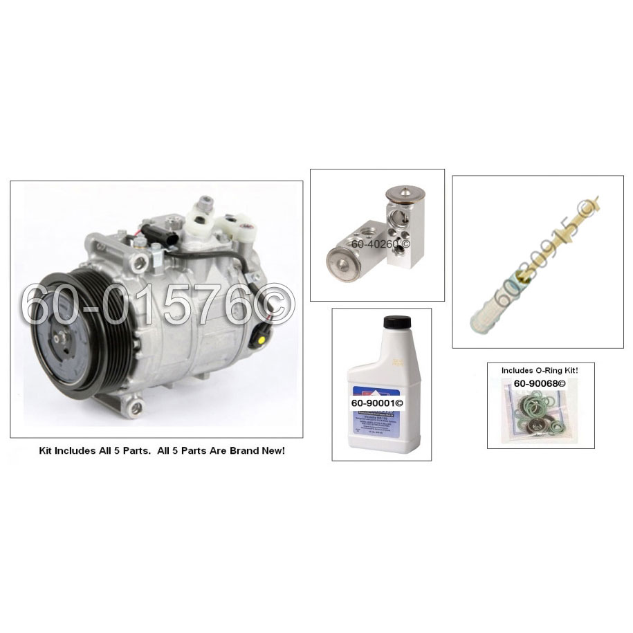 Mercedes Benz SLK350 AC Kit