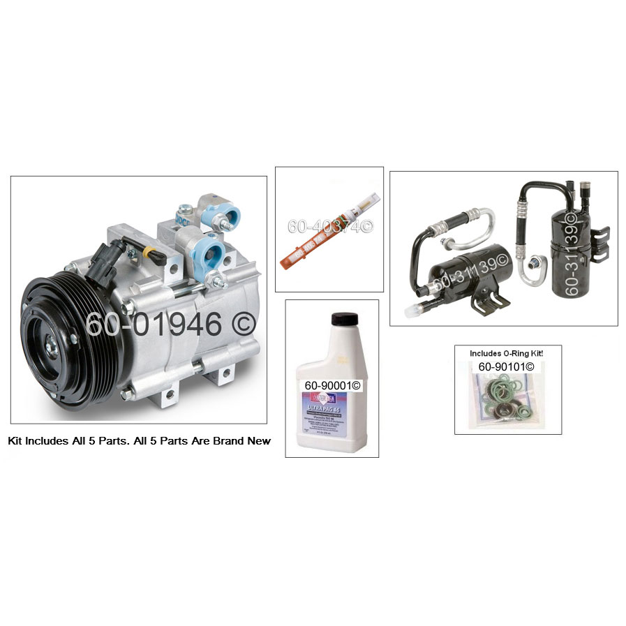 Ford Escape AC Kit