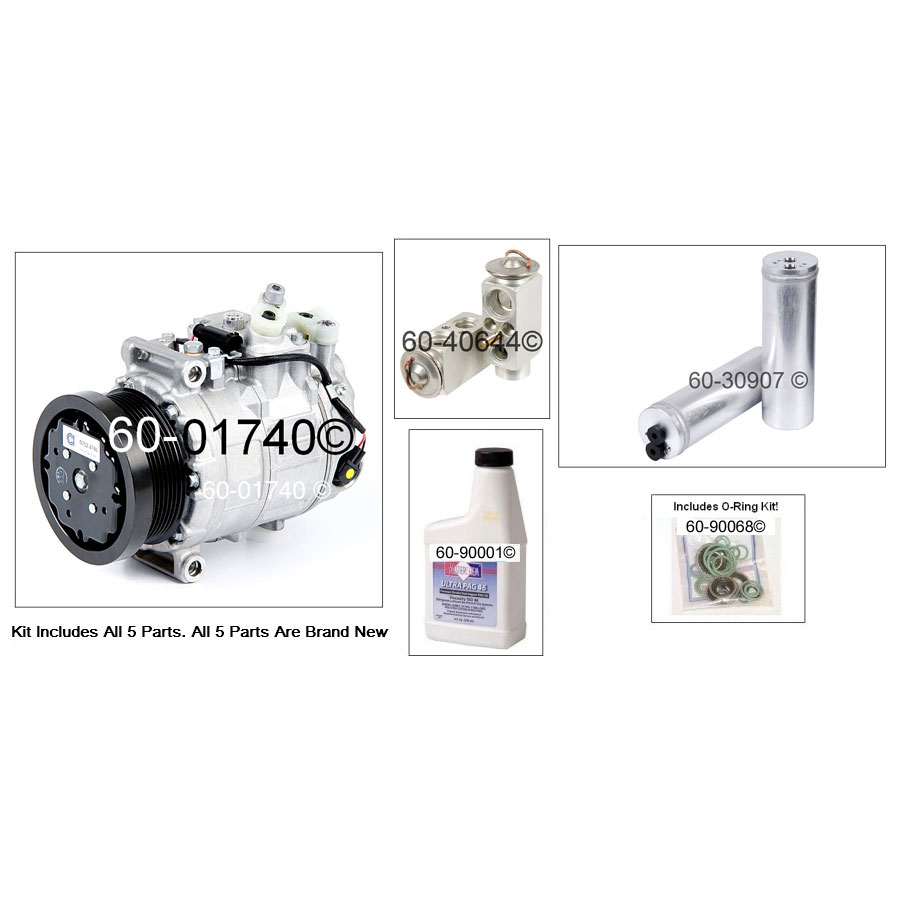 Mercedes Benz CL600 AC Kit