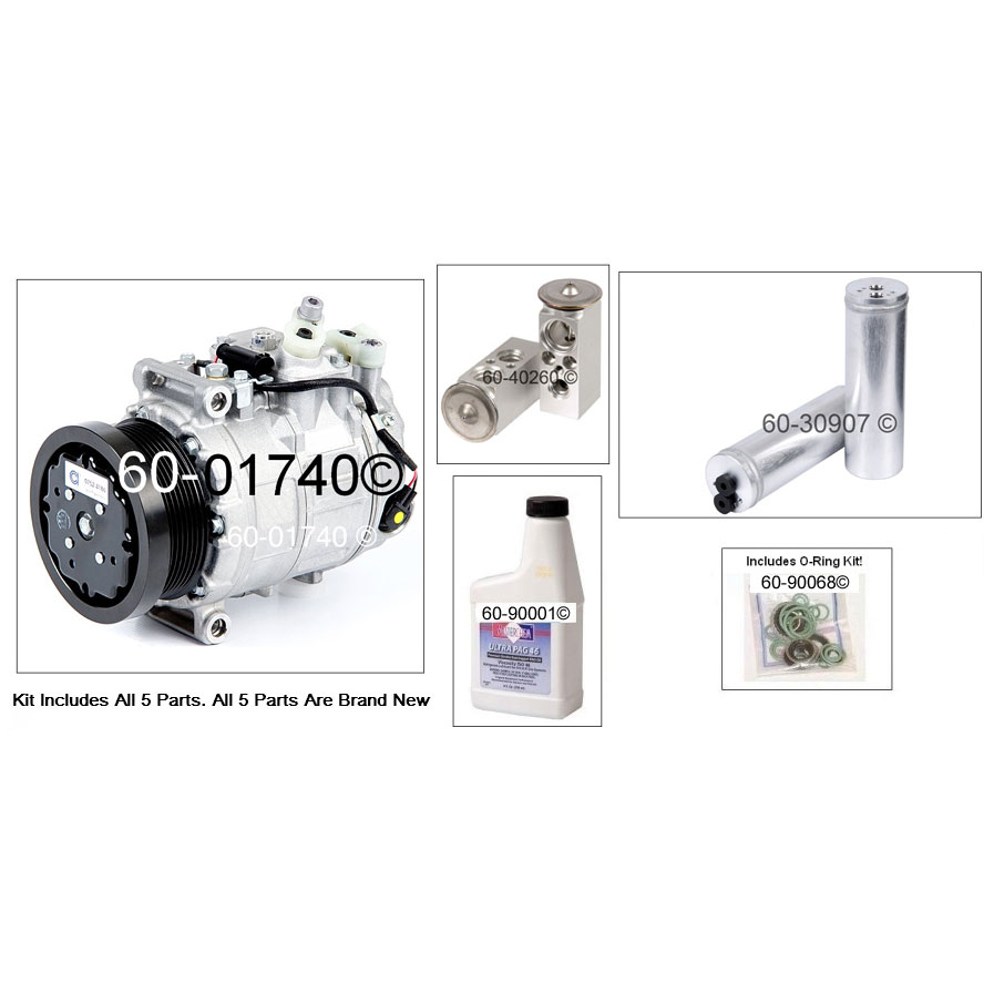Mercedes Benz S600 AC Kit