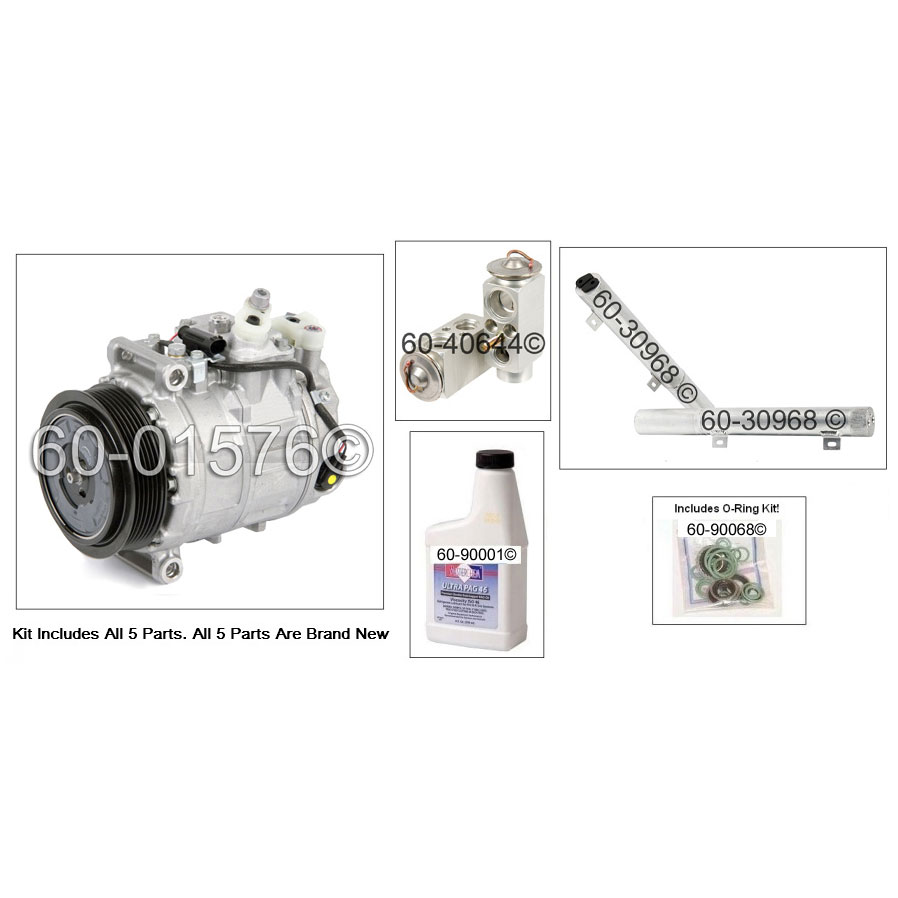 Mercedes Benz CLK550 AC Kit