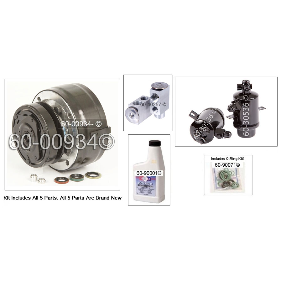 Mercedes_Benz 300CD                          AC KitAC Kit