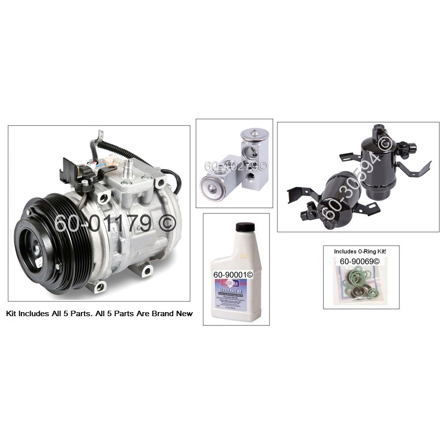 Mercedes Benz 300D AC Kit