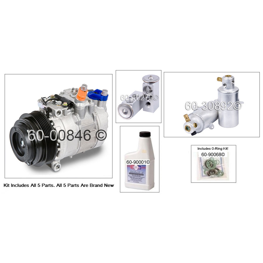 Mercedes Benz CL500 AC Kit