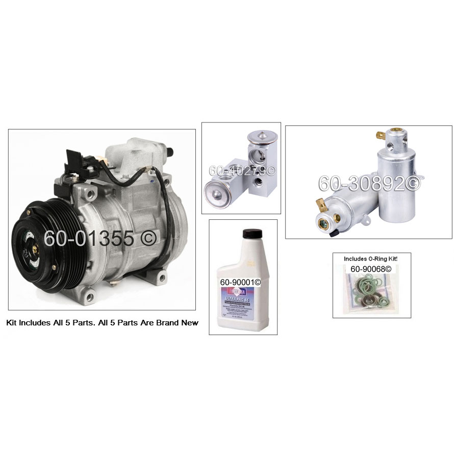 Mercedes Benz S350 AC Kit