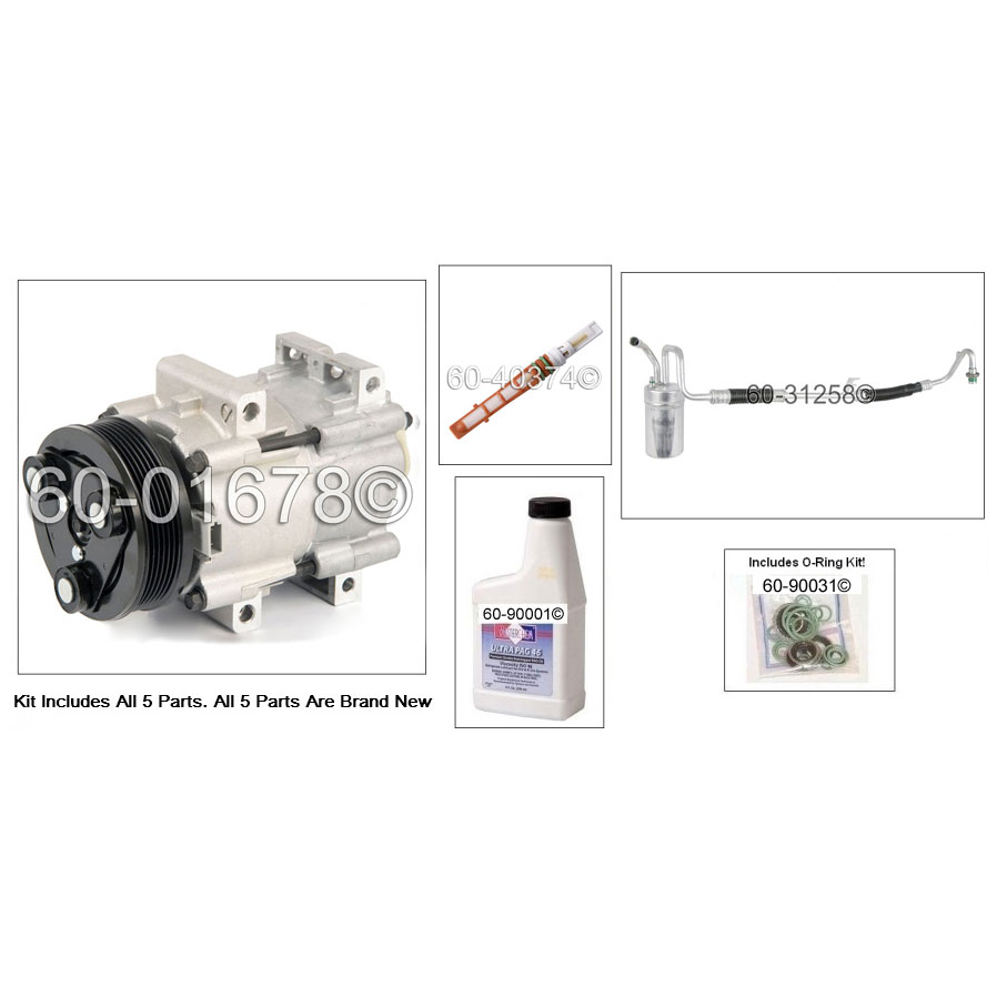 Ford Taurus AC Kit