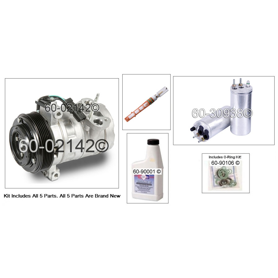 Jeep Liberty AC Kit