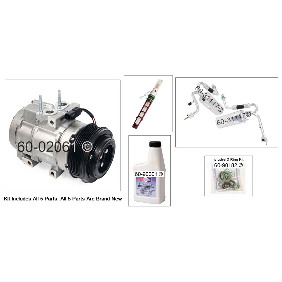 Ford Pick-up Truck AC Kit