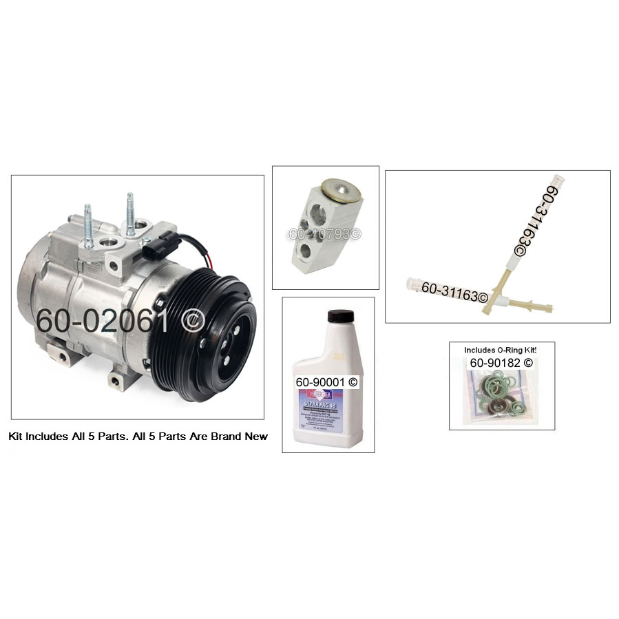 Ford F Series Trucks AC Kit