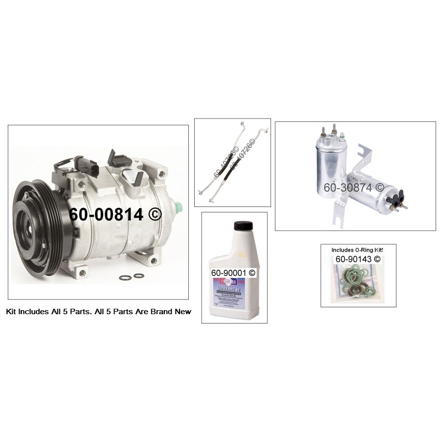 Chrysler PT Cruiser AC Kit