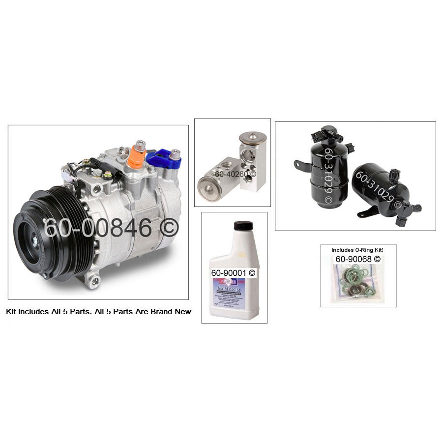 Mercedes Benz SLK230 AC Kit
