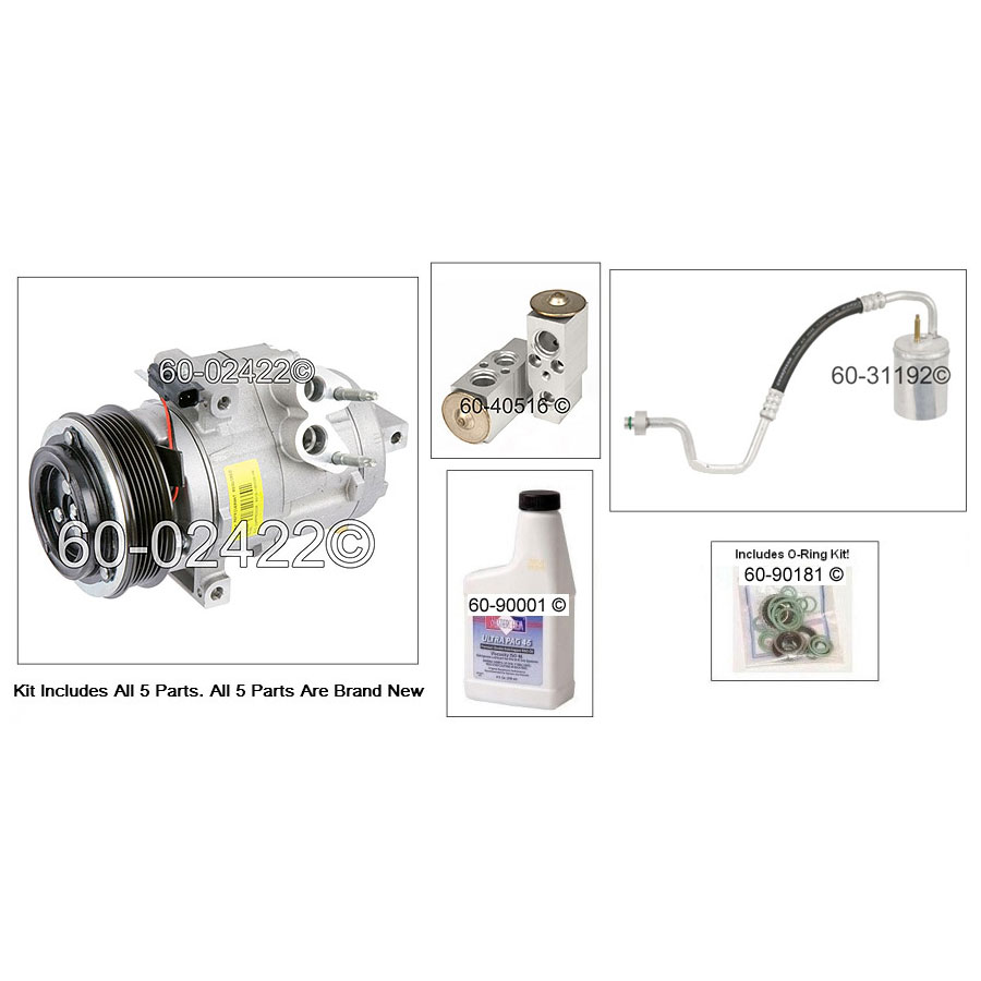 Lincoln MKS AC Kit