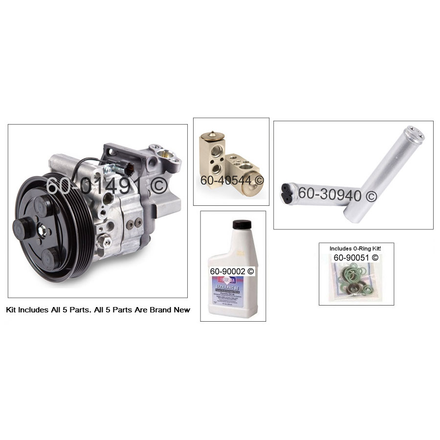 Nissan Sentra AC Kit