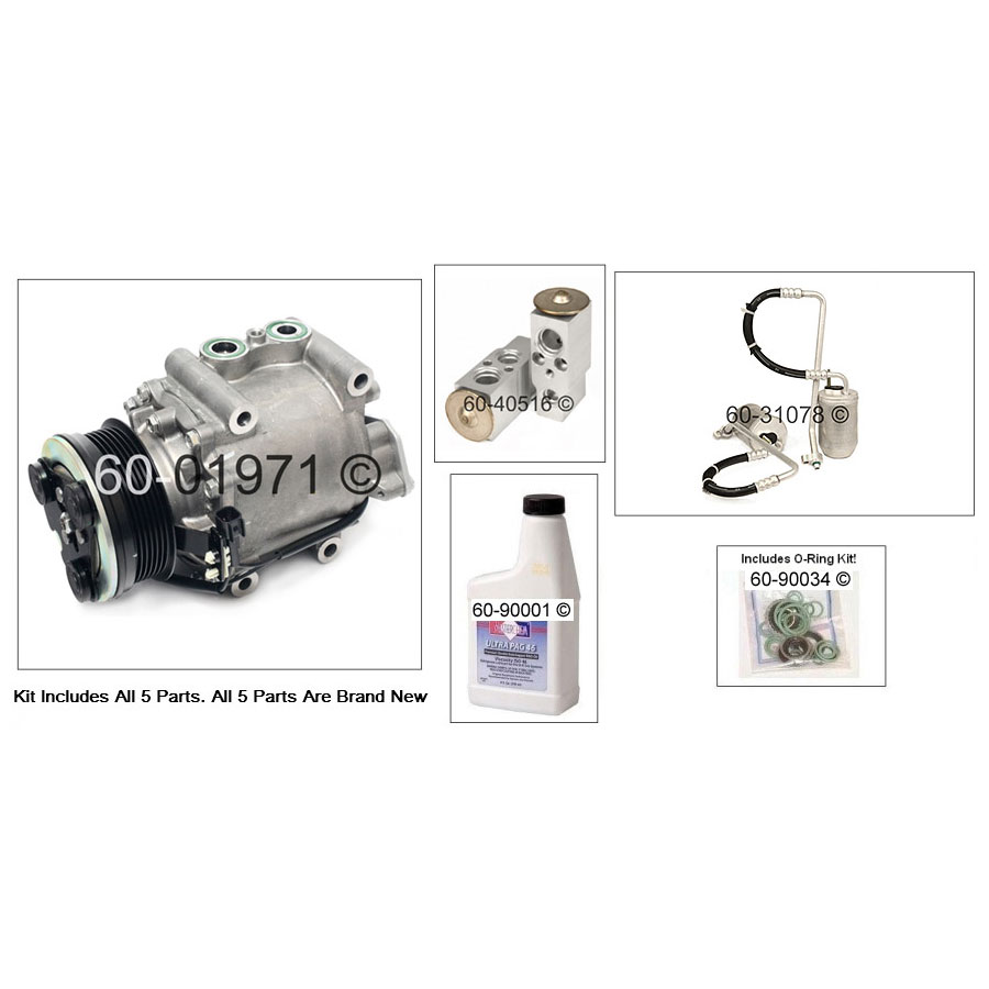 Ford Freestyle AC Kit