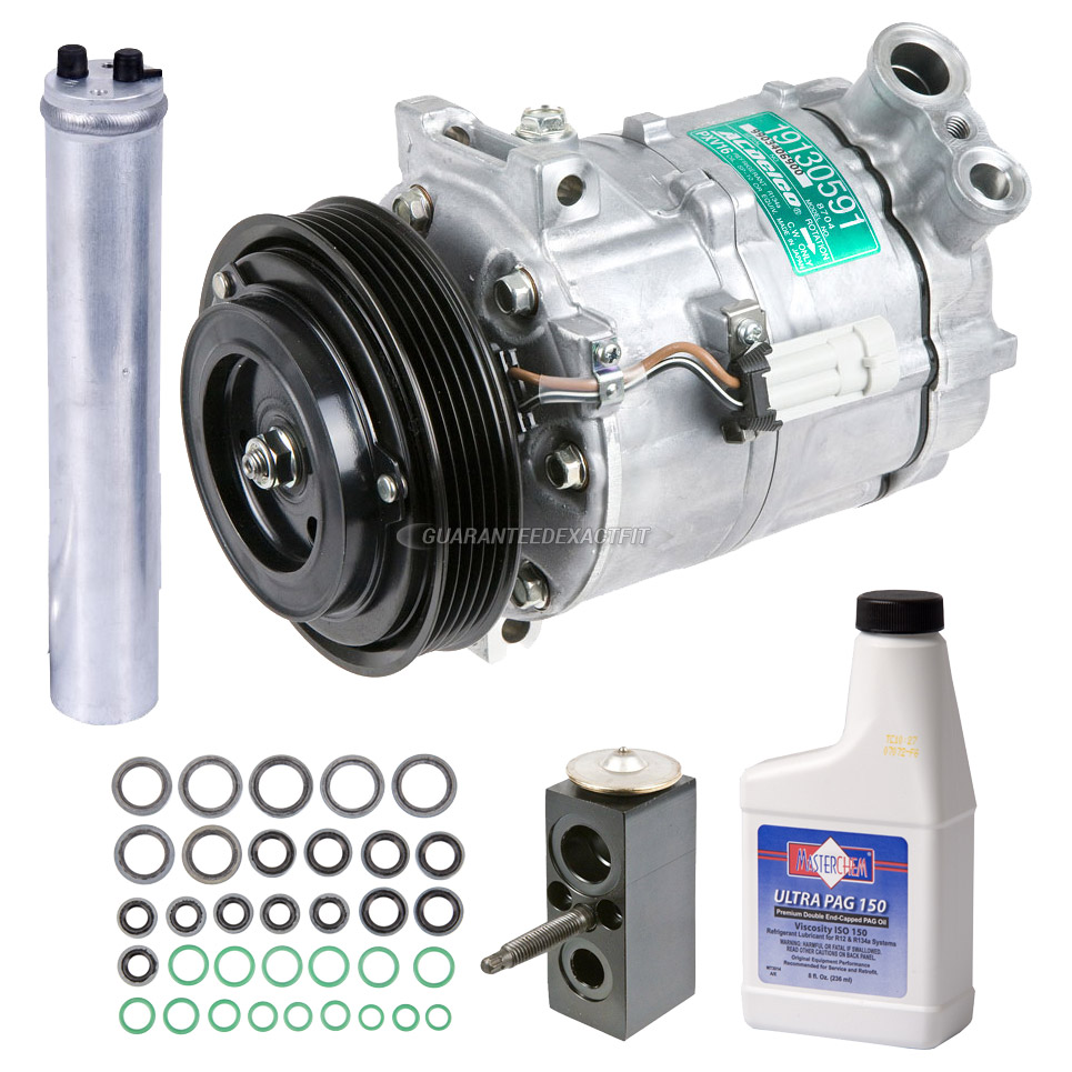Saturn Sky AC Compressor and Components Kit Parts, View