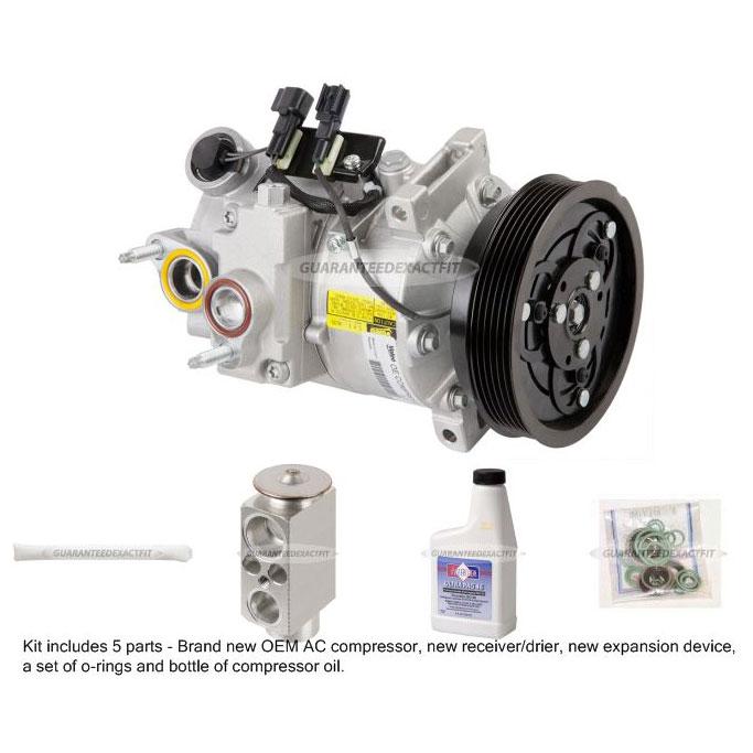 New Genuine Oem Ac Compressor  U0026 Clutch   A  C Repair Kit