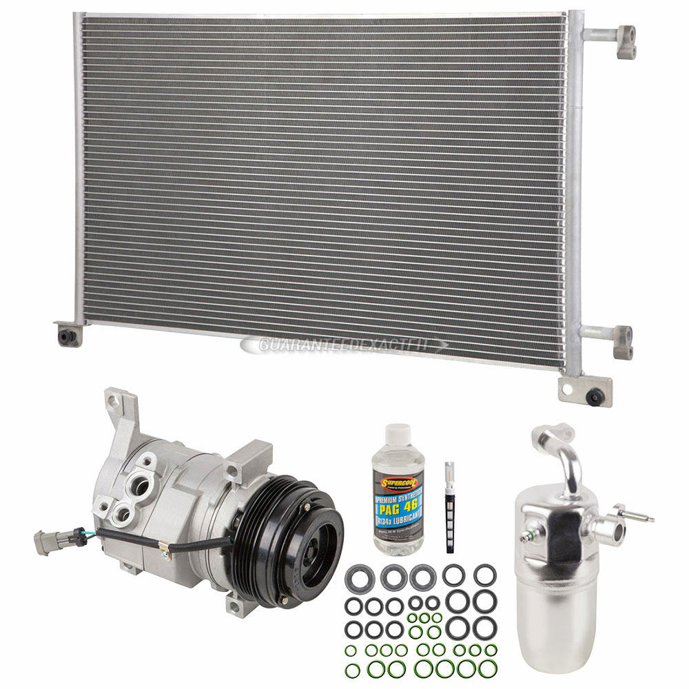 2008 Cadillac Escalade A/C Compressor and Components Kit