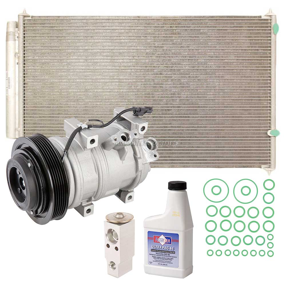2009 Acura MDX A/C Compressor And Components Kit All