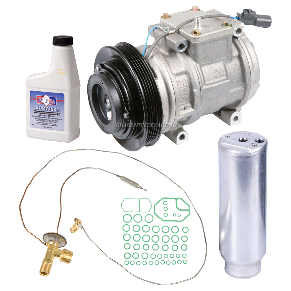 2000 Acura RL A/C Compressor And Components Kit All Models