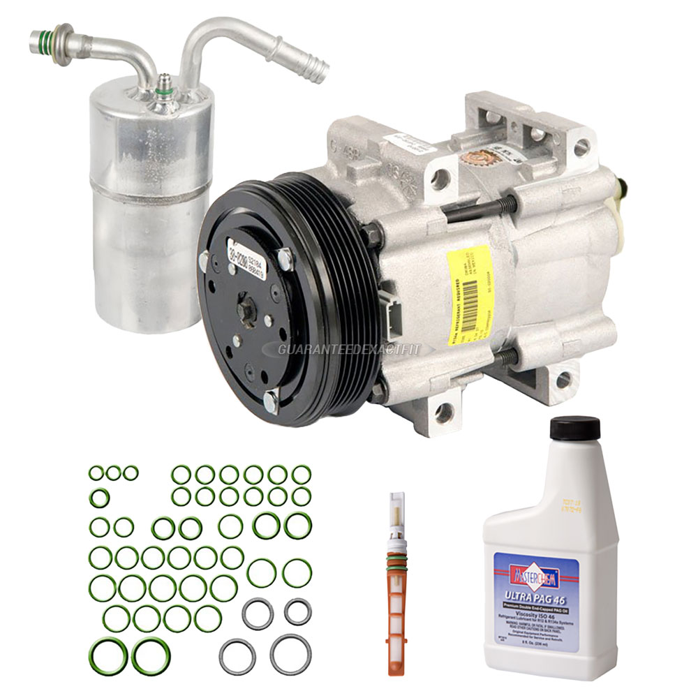 For Mercury Cougar 2000 2002 Replace 2fzw Remanufactured: 1992 Mercury Cougar A/C Compressor And Components Kit