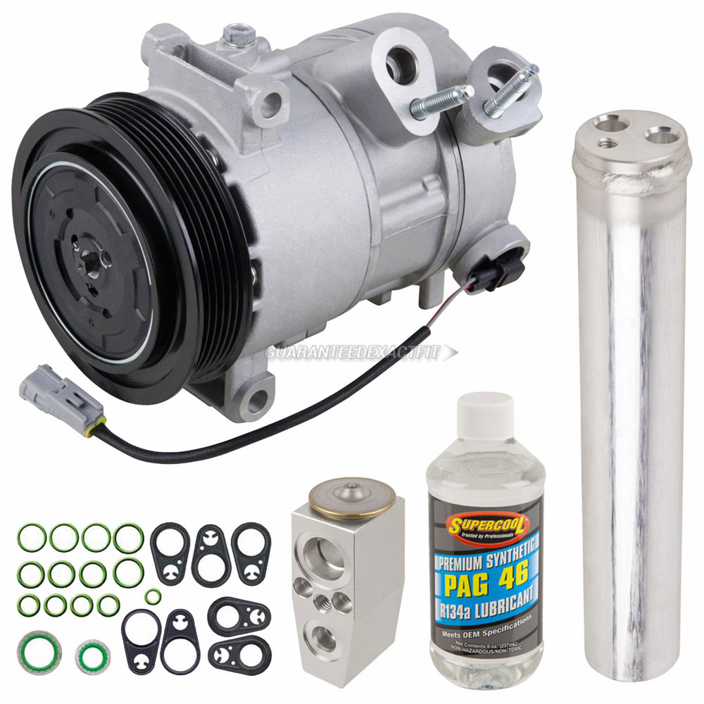 AC Compressor /& A//C Clutch For Dodge Caliber Jeep Patriot Compass BuyAutoParts 60-03281NA New
