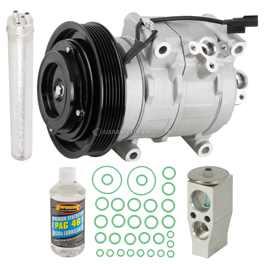 2017 Acura RDX A/C Compressor And Components Kit All