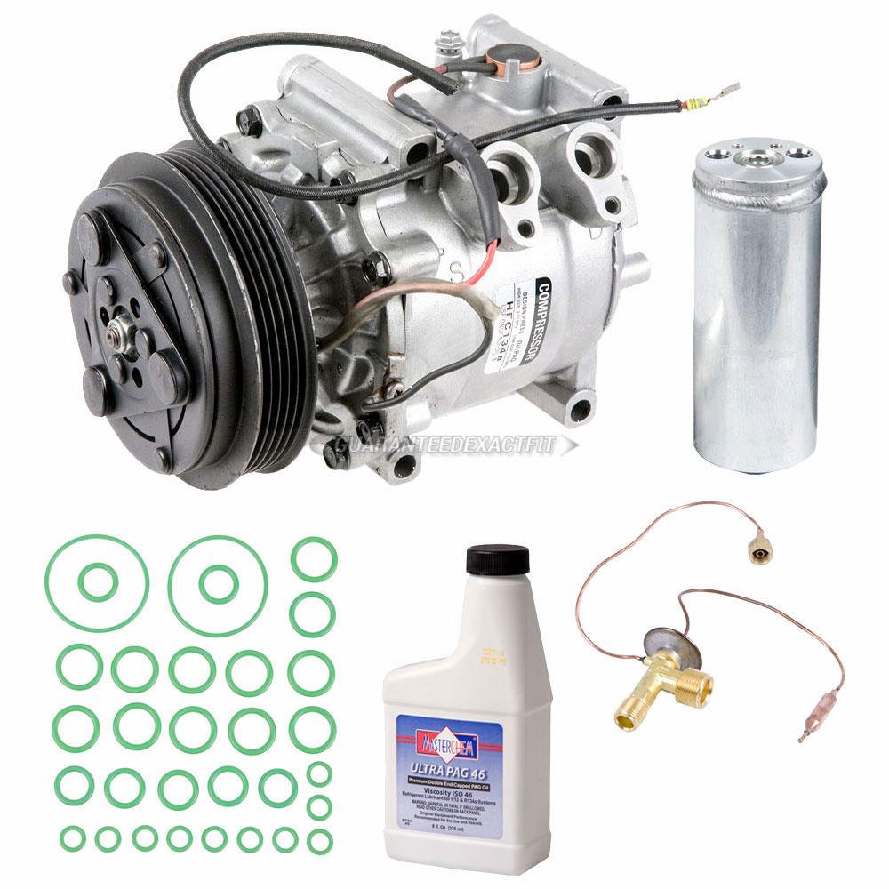 2005 Honda Insight Transmission: 2005 Honda Insight A/C Compressor And Components Kit All