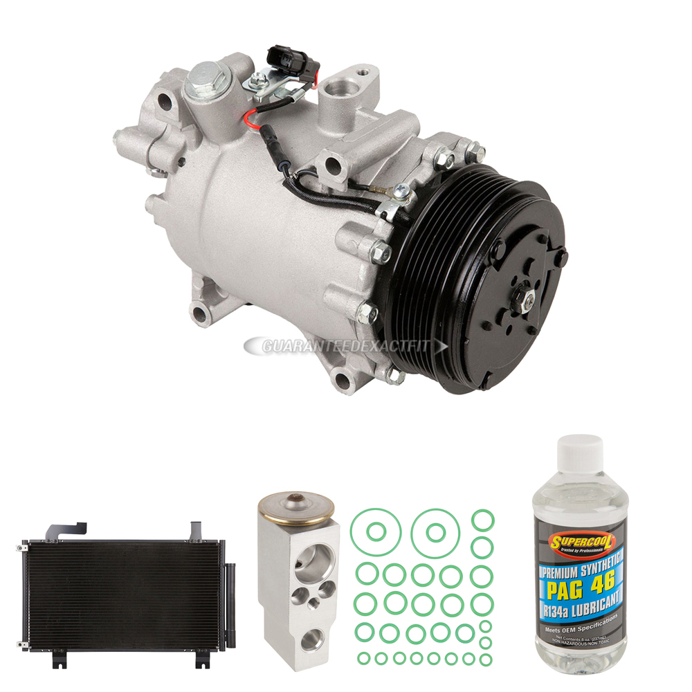 2012 Acura TSX A/C Compressor And Components Kit 2.4L