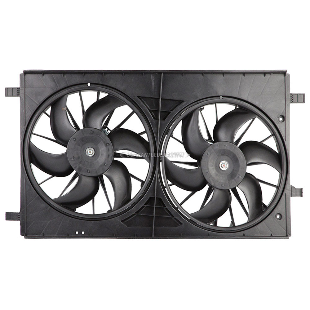 Dodge Caliber                        Cooling Fan AssemblyCooling Fan Assembly