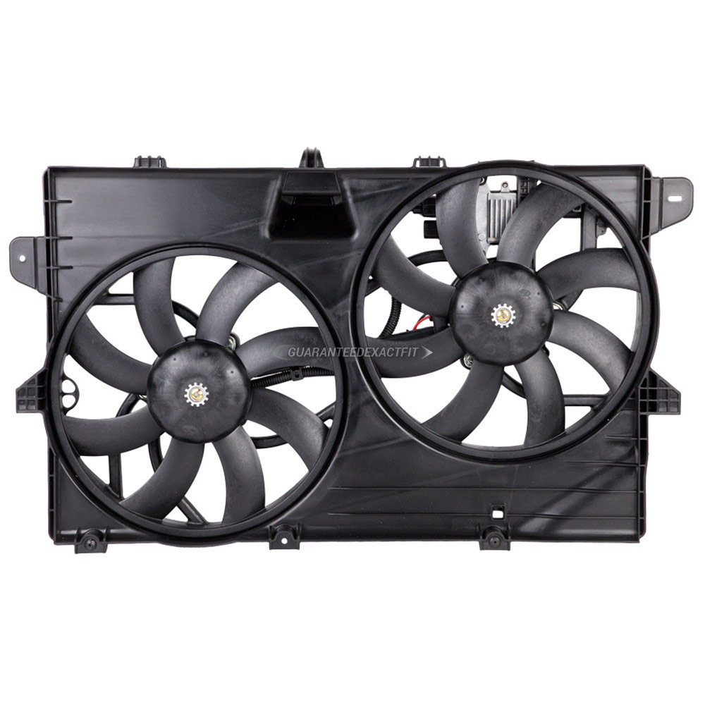 Ford Edge                           Cooling Fan AssemblyCooling Fan Assembly