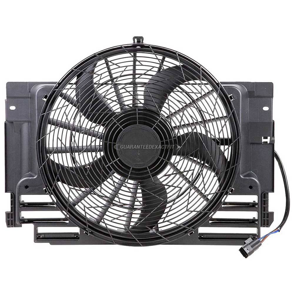 Brand New Radiator Or Condenser Cooling Fan Assembly For