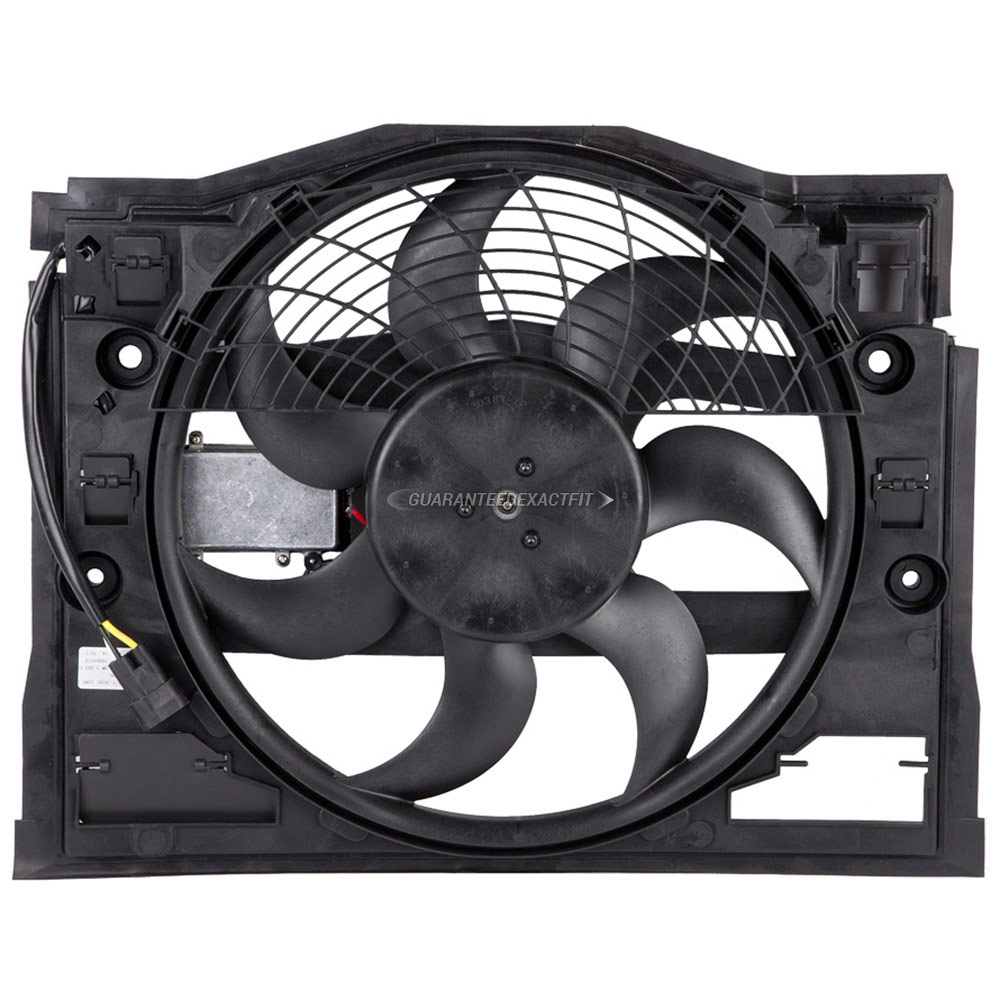 BMW 320i                           Cooling Fan AssemblyCooling Fan Assembly