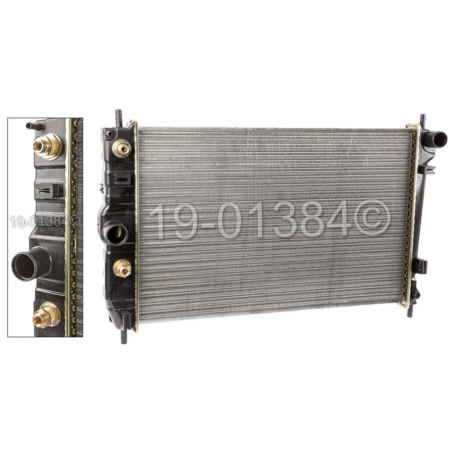1998 Jaguar XK8 Radiator