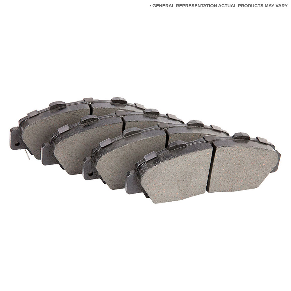 Mercedes_Benz 500SEC                         Brake Pad SetBrake Pad Set