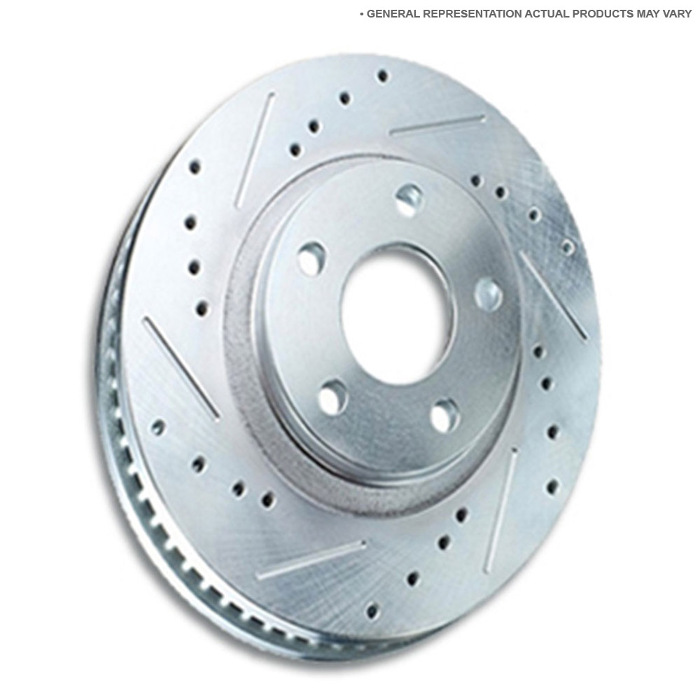 GMC Safari                         Brake Disc RotorBrake Disc Rotor