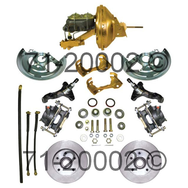 Pontiac  Disc Brake Conversion Kit
