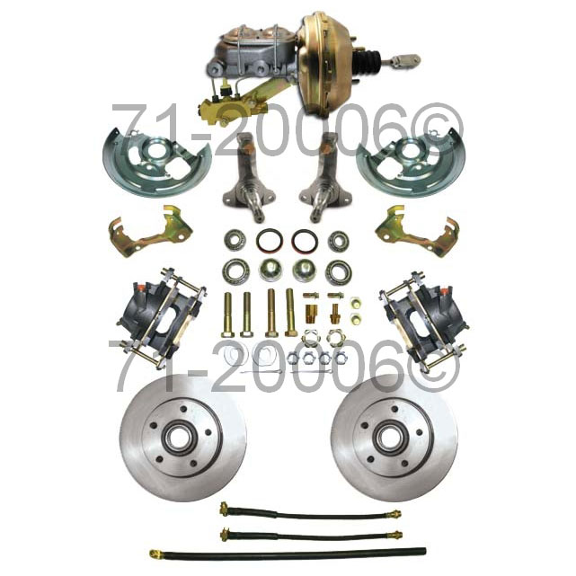 Chevrolet Chevy II                       Disc Brake Conversion KitDisc Brake Conversion Kit