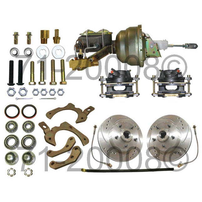 Chevrolet Impala                         Disc Brake Conversion KitDisc Brake Conversion Kit