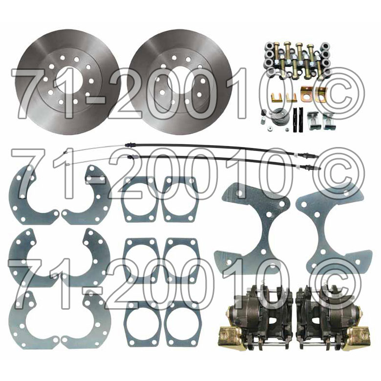 Ford Mustang                        Disc Brake Conversion Kit