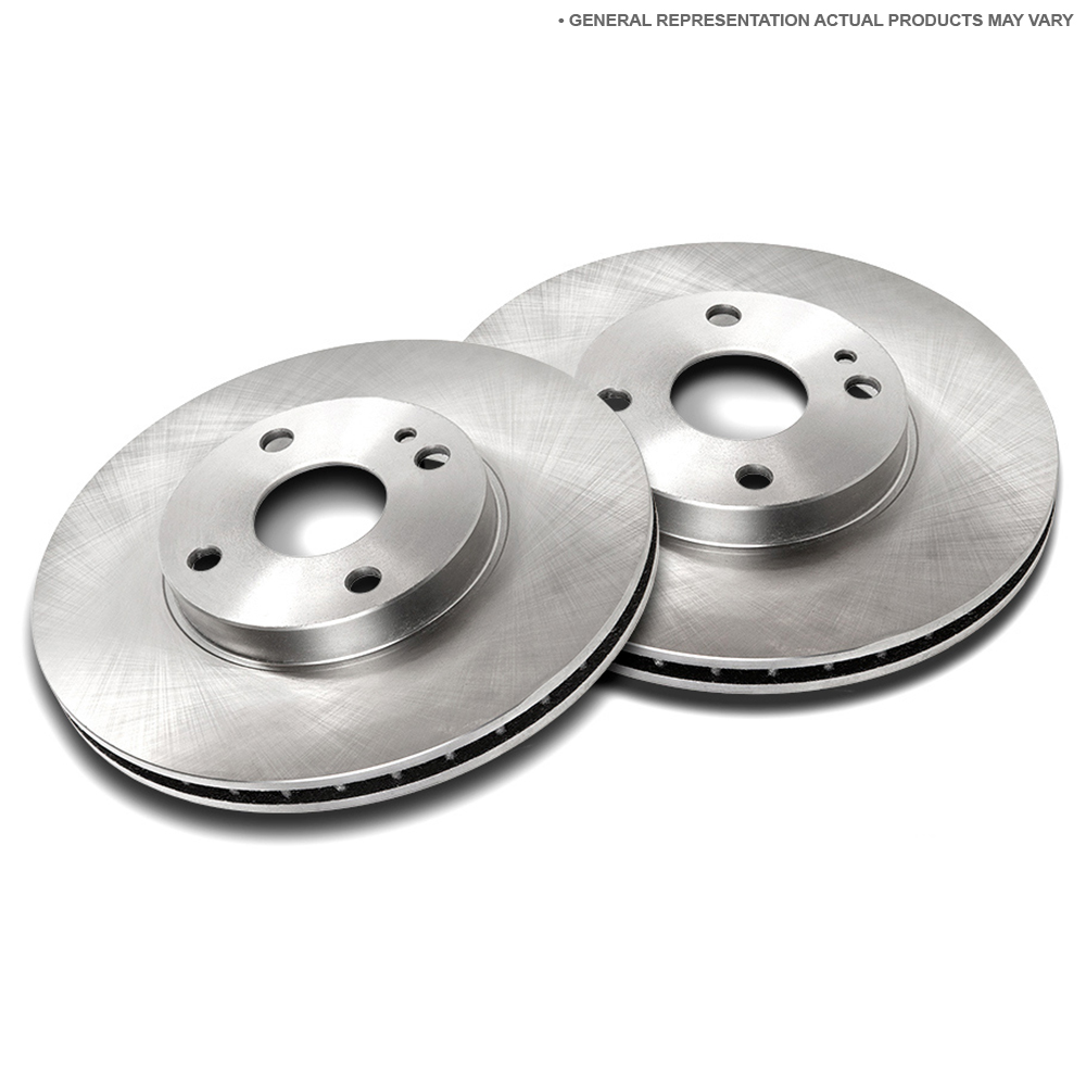 Mercedes_Benz 450SEL                         Brake Disc Rotor SetBrake Disc Rotor Set