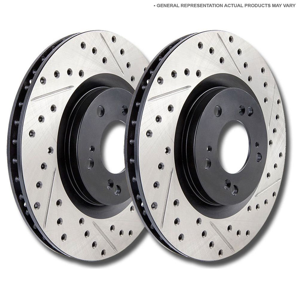 Mercedes_Benz 500SEC                         Brake Disc Rotor SetBrake Disc Rotor Set