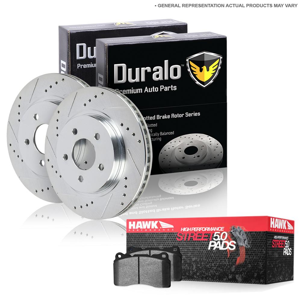 Nissan Murano                         Brake Pad and Rotor KitBrake Pad and Rotor Kit