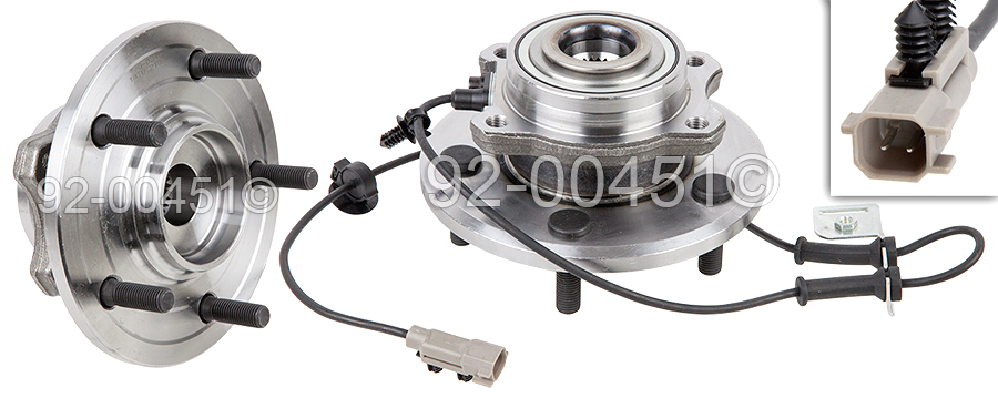 Chrysler Pacifica                       Wheel Hub AssemblyWheel Hub Assembly