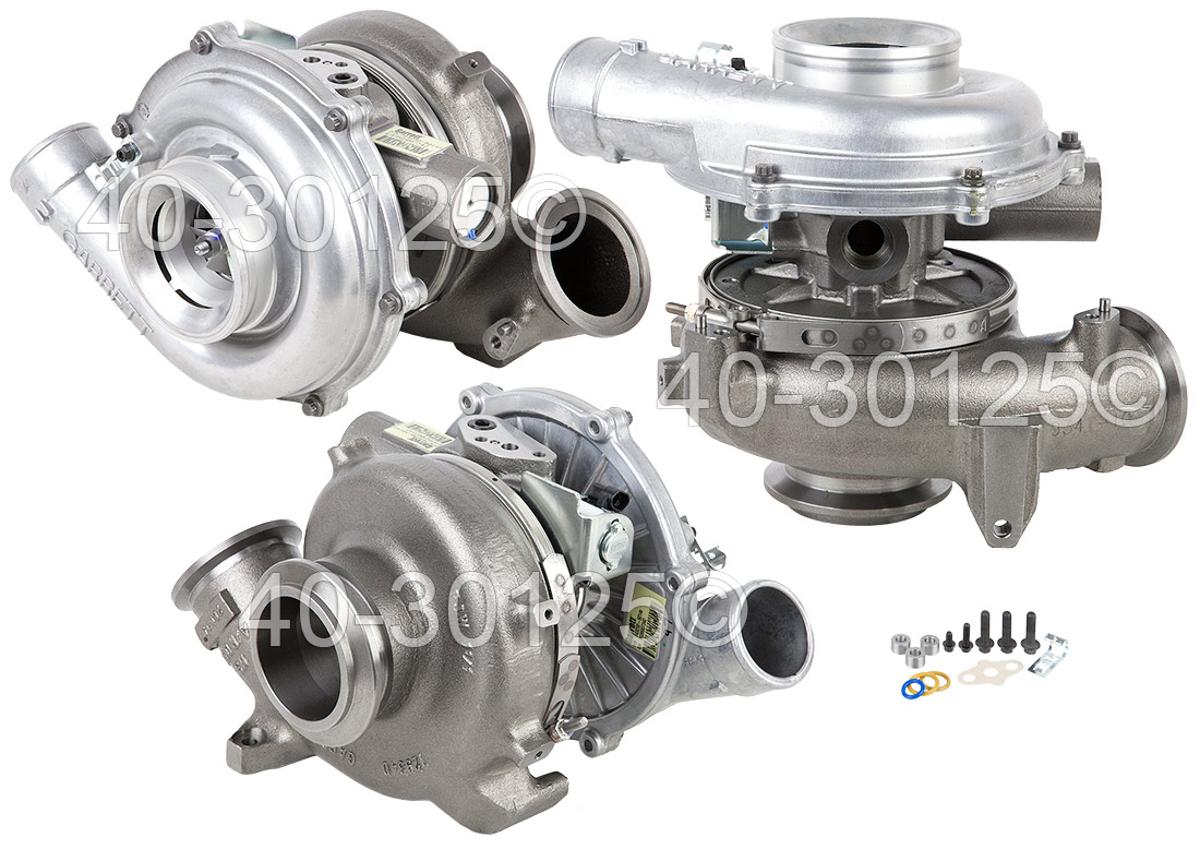 2007 Ford E Series Van 6.0L Diesel Engine Turbocharger