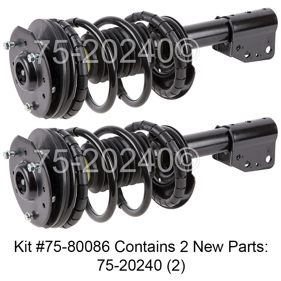 Pontiac Grand AM                       Shock and Strut SetShock and Strut Set