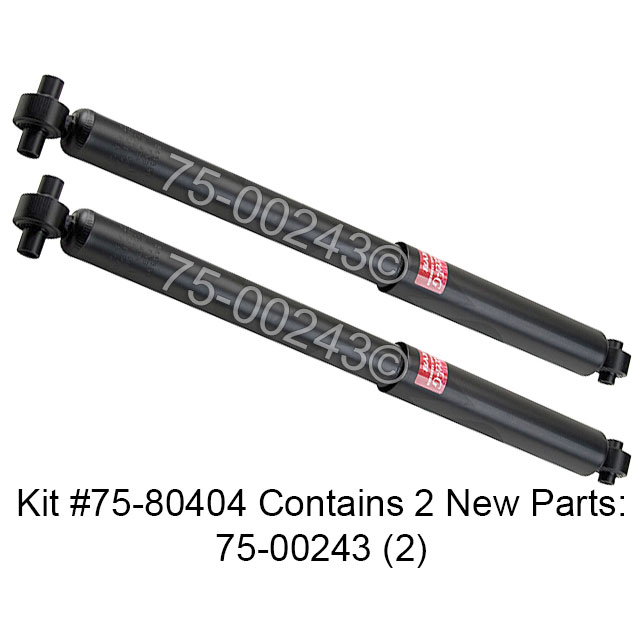 2003 gmc envoy shock and strut set from carsteering