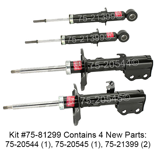 Pontiac Vibe                           Shock and Strut SetShock and Strut Set