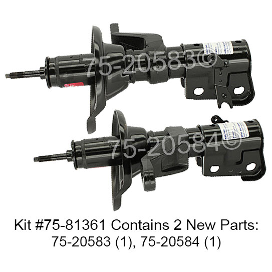 Acura RSX                            Shock and Strut SetShock and Strut Set