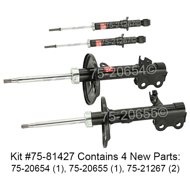 Toyota Prius                          Shock and Strut SetShock and Strut Set