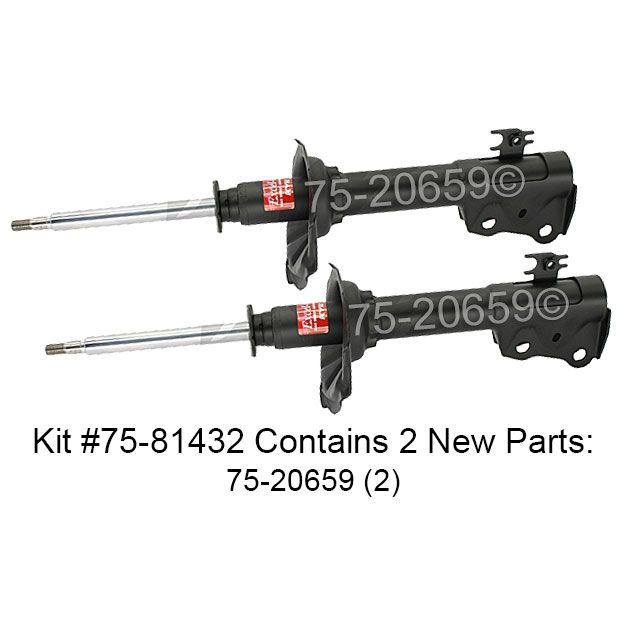 Scion xA                             Shock and Strut SetShock and Strut Set